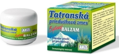 FYTO Tatranská priedušková zmes Bylinný BALZAM 40g