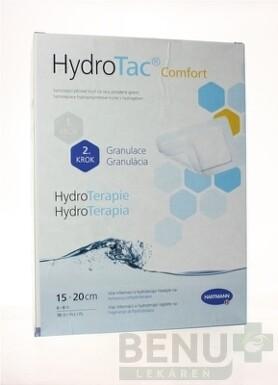 HydroTac Comfort - krytie na rany penové hydropol. (15x20 cm) 1x10 ks 1x10ks (15x20cm)