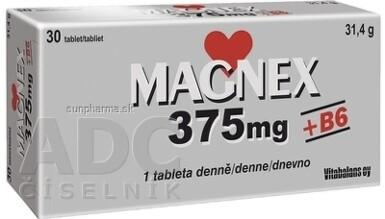 Vitabalans MAGNEX 375 mg + B6 tbl 30x375