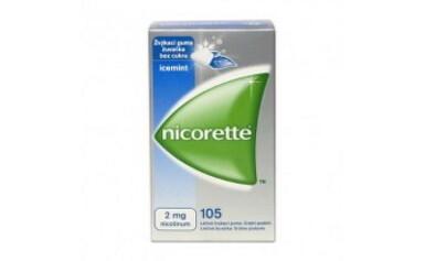 Nicorette Icemint Gum 2 mg gum med 105x2mg