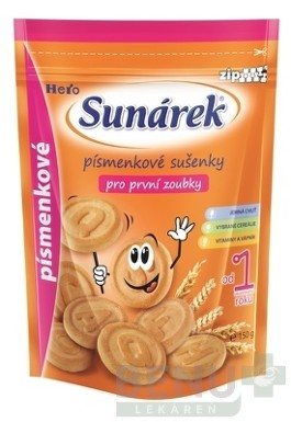 Sunárek sušienky písmenkové 150g