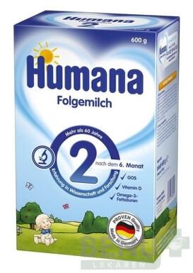 HUMANA 2 plv 600g