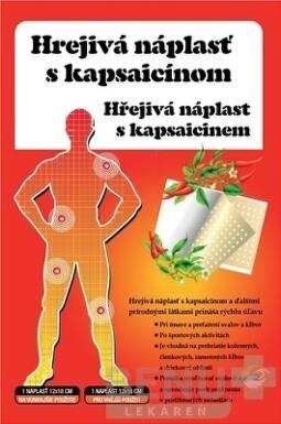 HREJIVÁ Náplasť s kapsaicínom 1ks