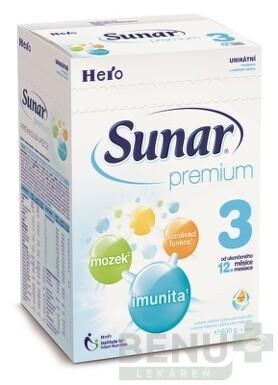 Sunar Premium 3, nový 1x600 g 600g