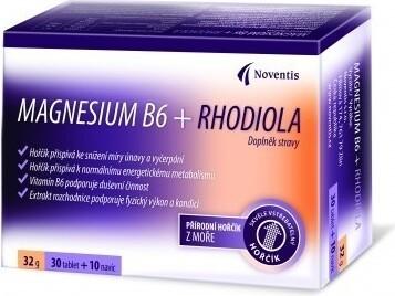 Noventis Magnesium B6 + Rhodiola tbl 30+10
