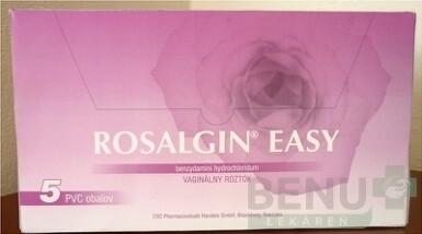 ROSALGIN EASY liq 5x140ml vaginalny roztok