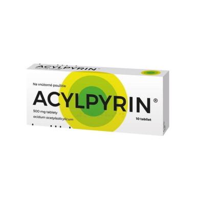 ACYLPYRIN tbl 10x500mg
