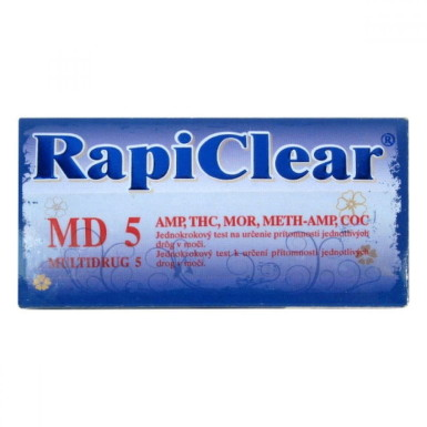 RapiClear MD 5 (MULTIDRUG 5) 1ks