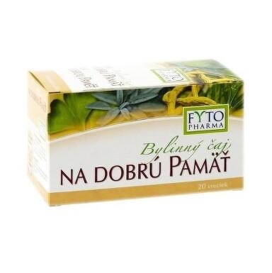 FYTO Bylinný čaj NA DOBRÚ PAMÄŤ 20x1,25g