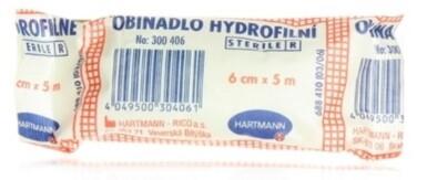 Hartmann Ovínadlo hydrofilné pletené sterilné 6cmx5m