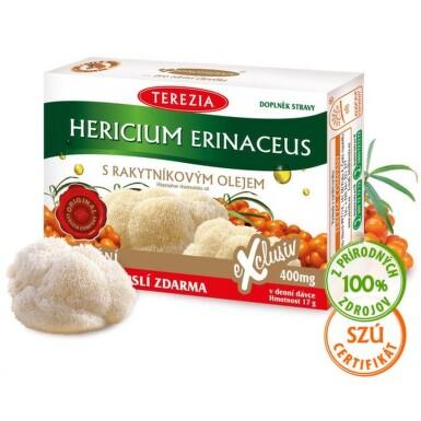 TEREZIA Hericium erinaceus s rakytníkovým olejom 30 + 30 kapsúl ZADARMO