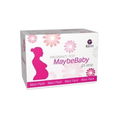 MAYBEBABY Strip maxi pack tehotenský test 25 kusov