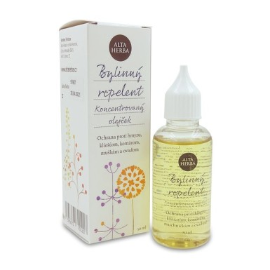 ALTA HERBA Bylinný repelent olejček 50 ml