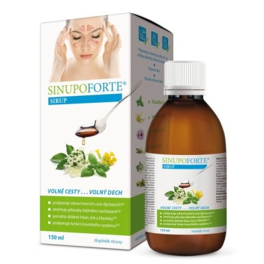 SINUPO Forte sirup 150 ml