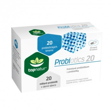 TOPNATUR Probiotics 20 30 kapsúl