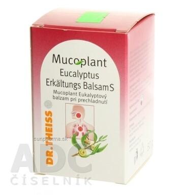 Mucoplant Eukalyptový balzam pri prechladnutí 50g