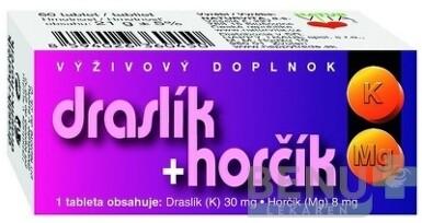NATURVITA DRASLÍK + HORČÍK tbl 60
