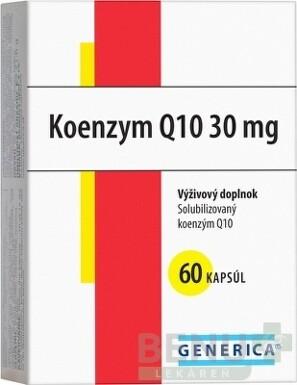 GENERICA Koenzym Q10 30 mg cps 60x30mg