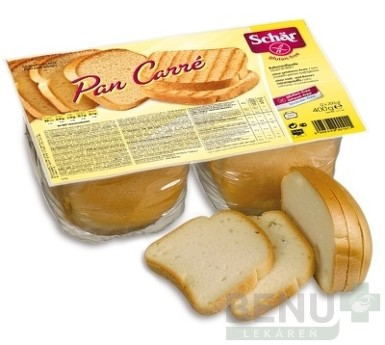 Schär PAN CARRÉ chlieb 400g