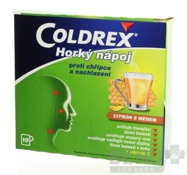 Coldrex Horúci nápoj Citrón s medom 10ks