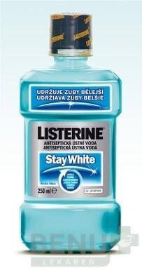 LISTERINE STAY WHITE 250ml
