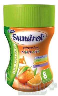 Sunárek instantný nápoj pomarančový 200g