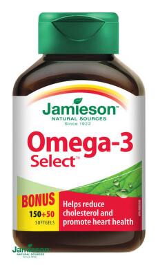 JAMIESON OMEGA-3 SELECT 1000 mg cps 200