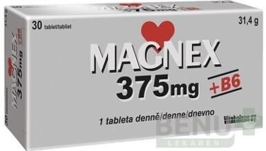 Vitabalans MAGNEX 375 mg + B6 tbl 30x375 2