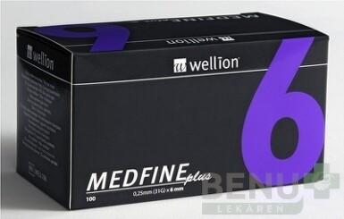 Wellion MEDFINE plus Penneedles 6 mm 100ks