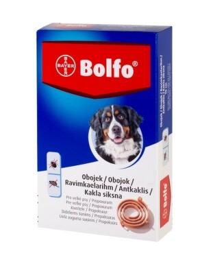 BOLFO obojok pre veľké psy, obvod 70 cm 1ks