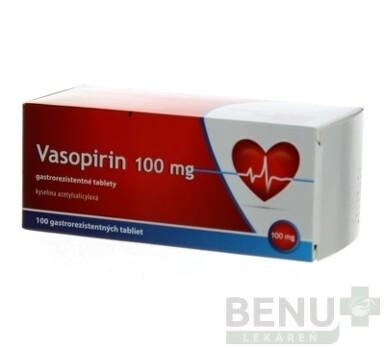 Vasopirin 100 mg tbl ent 1x100ks