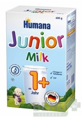 HUMANA Junior Milk plv 600g