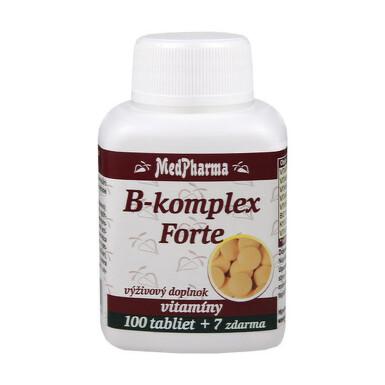 MedPharma B-komplex Forte tbl 100+7 zdarma