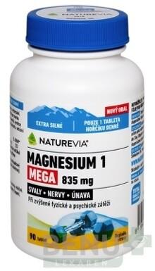 SWISS NATUREVIA MAGNESIUM 1 MEGA 835 mg tbl 1x90 ks tbl 90