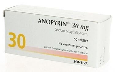 Anopyrin 30 mg tbl 50x30mg