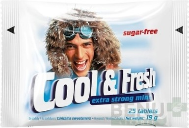 Cool & Fresh extra strong mint tbl 25
