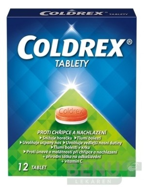 COLDREX TABLETY tbl 12