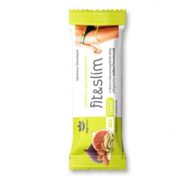 TOPNATUR Fit & slim psyllium s glukomannanom tyčinka 50 g