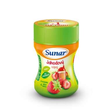 SUNAR Rozpustný nápoj v prášku jahodový 200 g