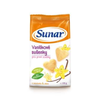 SUNAR Vanilkové sušienky 175 g