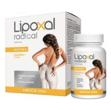 LIPOXAL Radical dvojmesačná kúra 180 tabliet