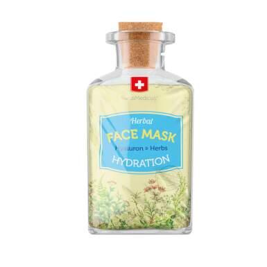 SWISSMEDICUS Herbal pleťová maska s kyselinou hyalurónovou 17 ml