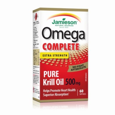 JAMIESON Omega complete pure krill oil 60 kapsúl