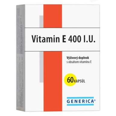 GENERICA Vitamín E 400 I.U. 60 kapsúl