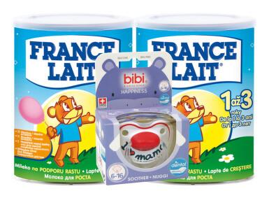FRANCE LAIT MLIEKO 3 2x400g