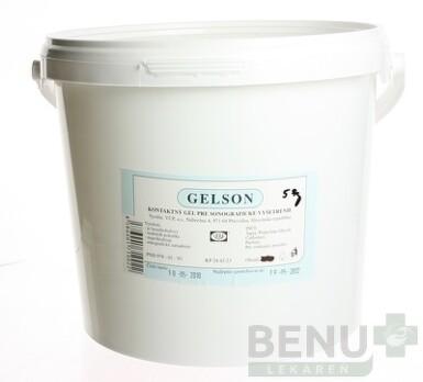 GELSON sonograficky gél 5kg