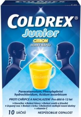 Coldrex Junior Citrón 10ks