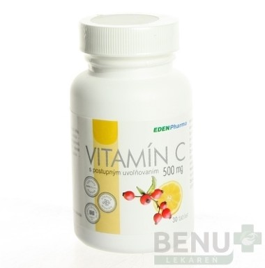 EDENPharma VITAMÍN C 500 mg tbl 30x500mg