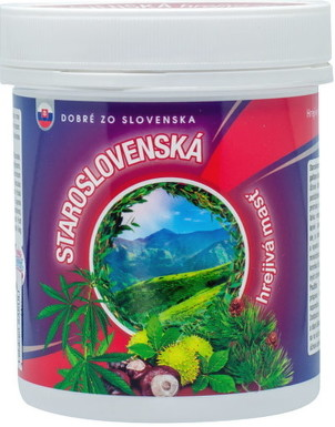 Dobré z SK STAROSLOVENSKÁ hrejivá masť 250ml