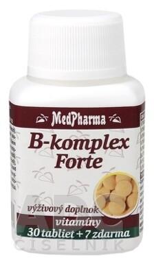 MedPharma B-komplex Forte tbl 30+7 zdarma